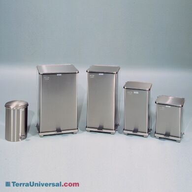 ValuLine Stainless Steel Waste Receptacles come in 5 different sizes