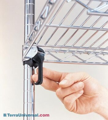Enables you to adjust shelf levels quickly and easily | 1697-33 displayed