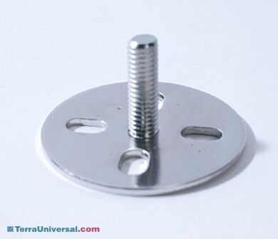 Work station mounting foot. Product details may differ. | 1540-04-2 displayed