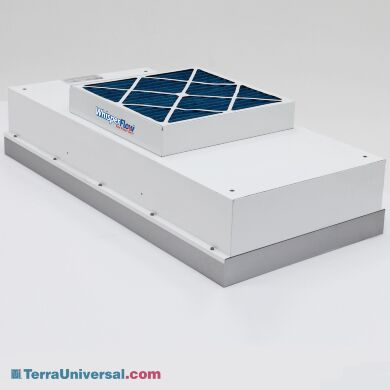 Heated WhisperFlow Fan Filter Units (FFUs) provides a uniform flow of heated ULPA-filtered air for parts drying and other operations at above-ambient temperatur   6601-24-UT displayed