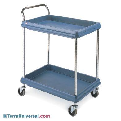 Deep Ledge Series Polymer Utility Carts By Intermetro Terra Universal