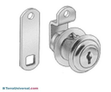 1700-97 Drawer Lock, cam lock   1700-97 displayed