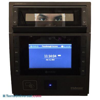 Iris Scanner For Smart Passthrough   2635-84 displayed