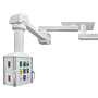 Customizable Amico Anesthesia OR Booms/Pendants with a 340° rotation include a console, dual mount ceiling plate, arms and electrical and choice of gas supply  |  3803-PP-01 displayed