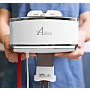Models in 400, 700 and 1000 pound weight capacities provide smooth and safe patient transfer in clinical and operating rooms; portable model also available