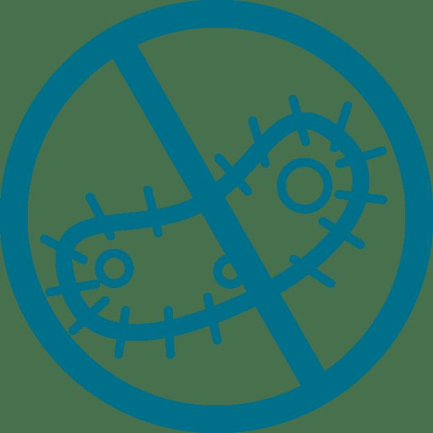 Anti microbe icon