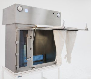 Compounding Aseptic Isolator Front Access For Sterilization