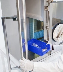 Transferring Materials Into Compounding Aseptic Isolator Antechamber