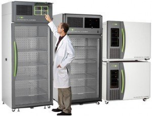 Environmental test chambers and specimen incubators