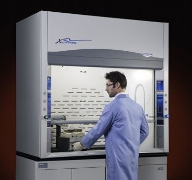 Labconco biosafety cabinet fume hood