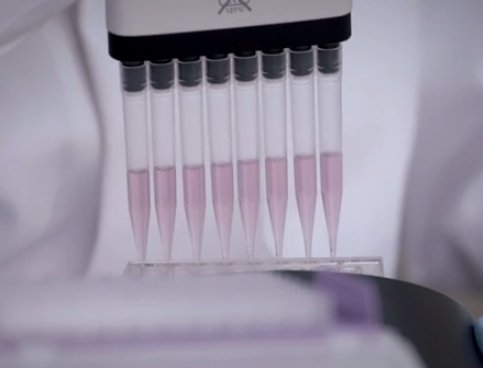 Multi-channel pipetting.