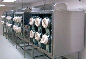Smithsonian Meteorite Nitrogen Glovebox isolator | Terra Universal