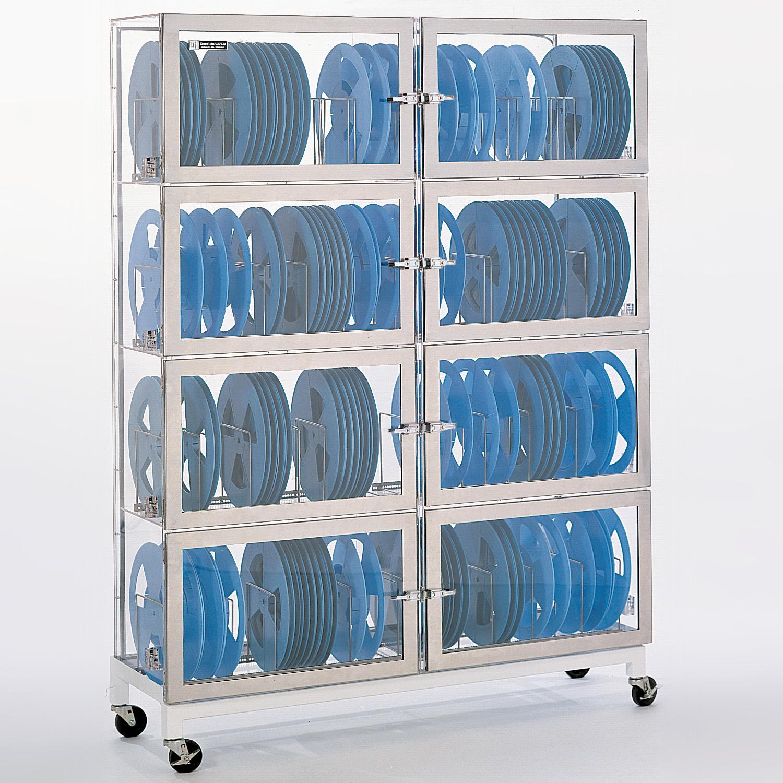 8 chamber Reel Storage Desiccator