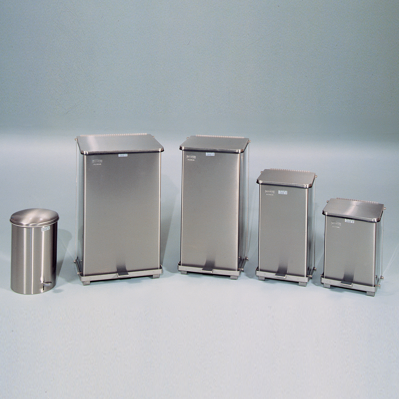 Stainless Steel Waste Receptacles