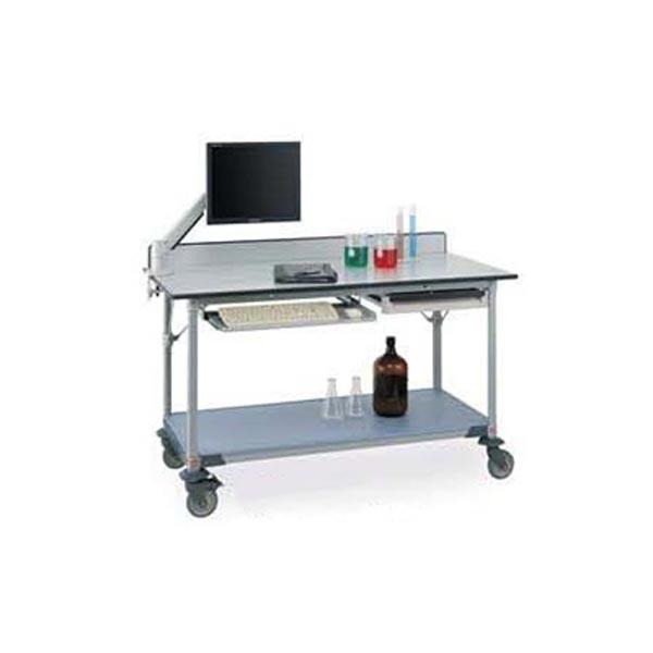 InterMetro Phenolic Top Lab Work Table with Shelf