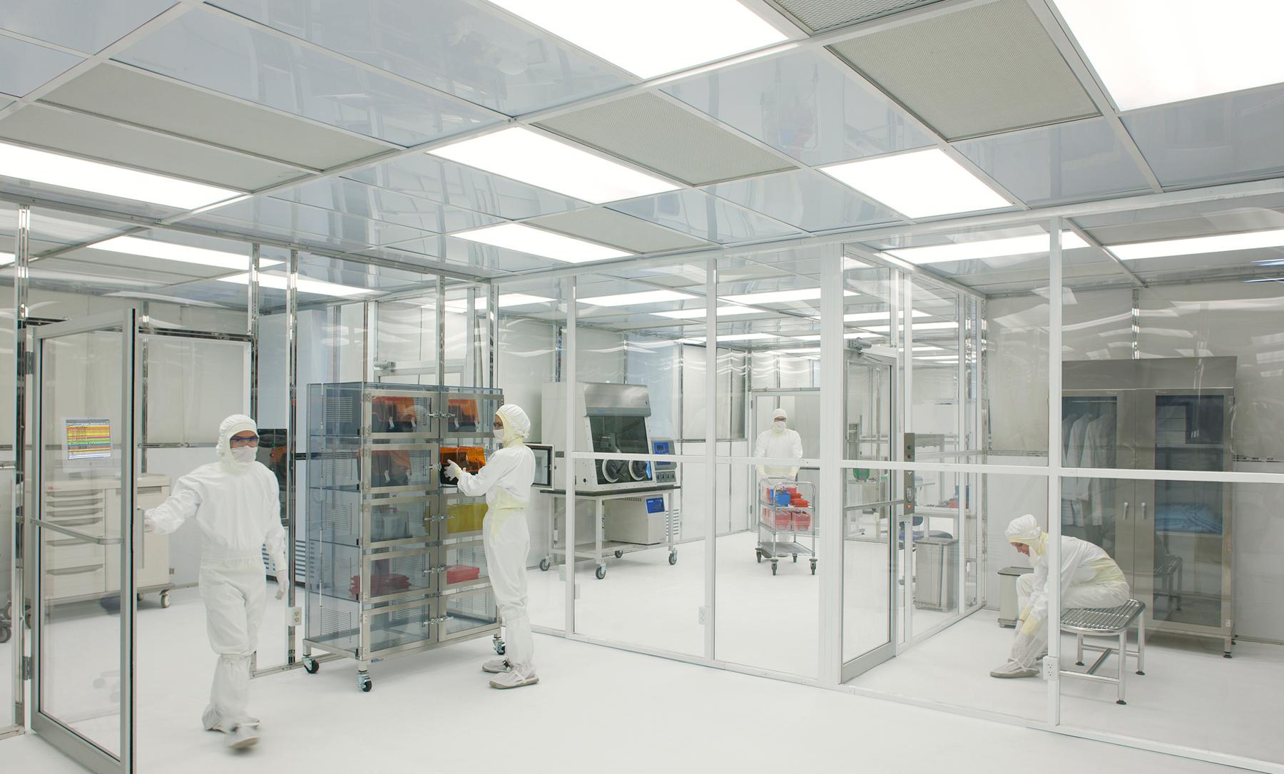 Hardwall Modular Cleanroom – Multi-Room Configuration