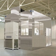 All-Steel BioSafe Cleanrooms Air Return