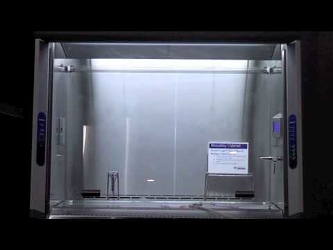 Video of smoke testing Labconco BSC and glovebox isolator