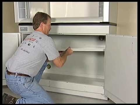 Video by Labconco delineating the instructions to install a Protector Premier Fume Hood with solvent cabinet