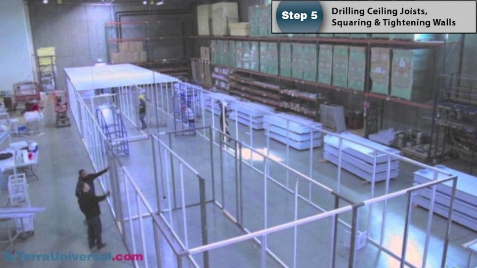 Time-Lapse Video of Cleanroom Assembly