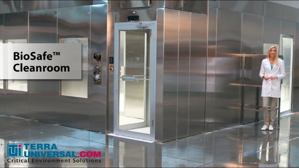 Video Overview of BioSafe® Modular Cleanroom