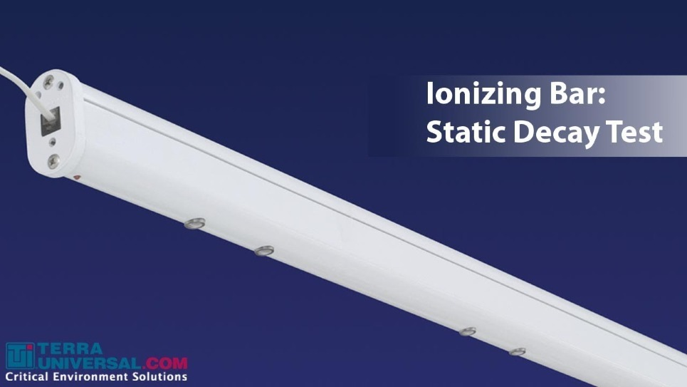 Ionzing Bar Static Decay Test