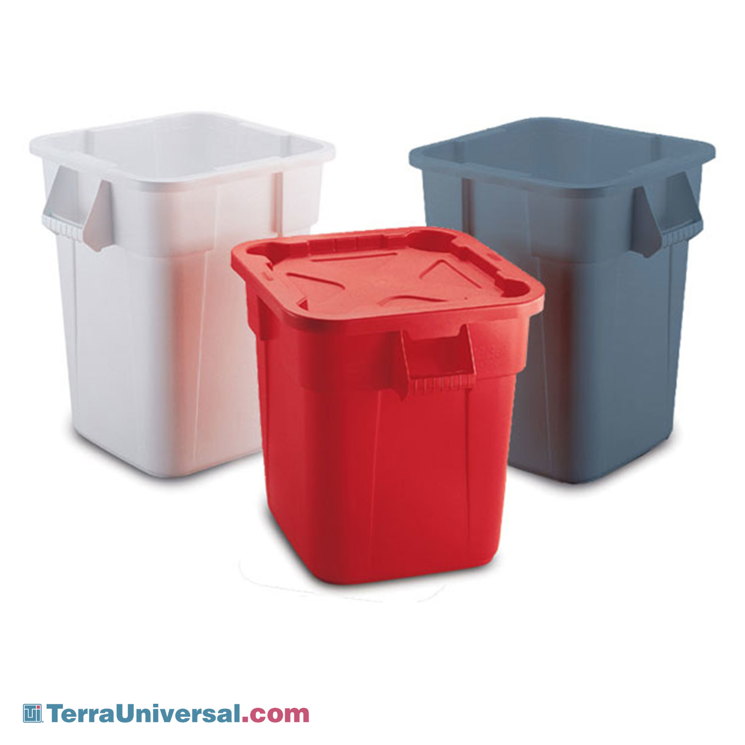 Brute Square Containers Accessories By Rubbermaid