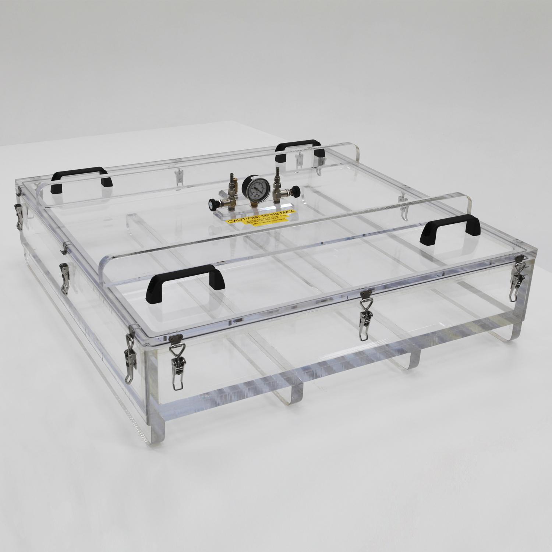 Flat Acrylic Vacuum Chamber