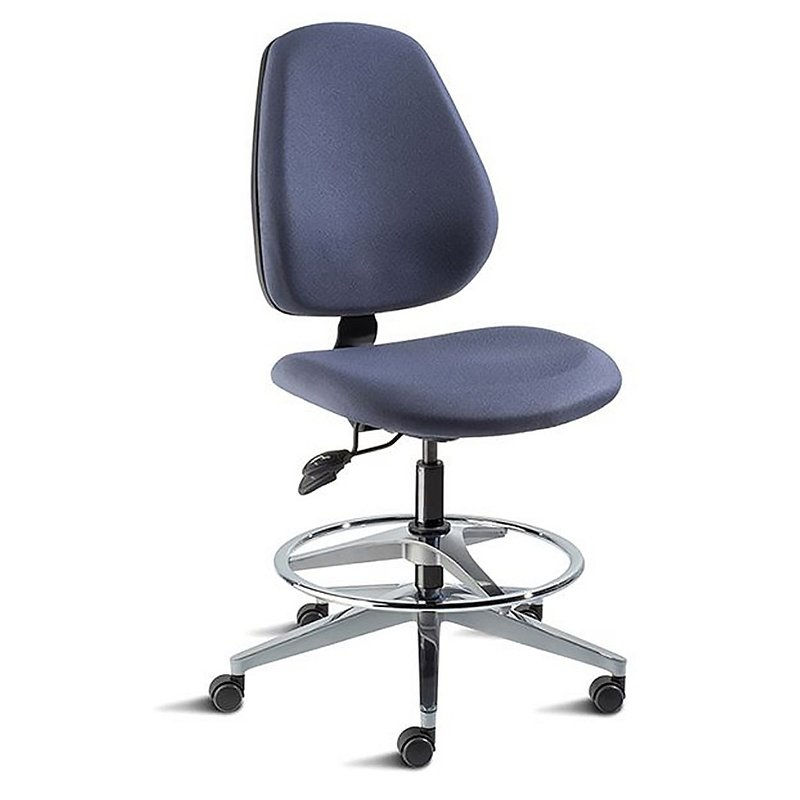 BioFit MVMT Tech Chair Five Leg Base With Armrest And Fixed Foot Ring