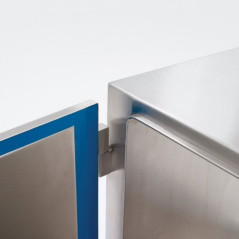 Lift-Off Pass-Through Door with Polyurethane Gasket