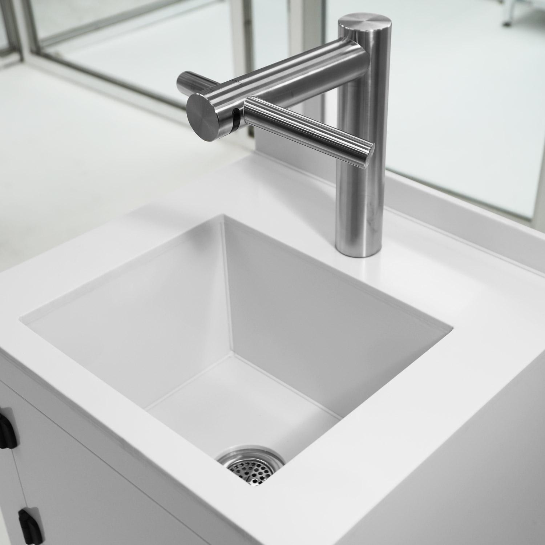 Hands-Free Sink and Hand Dryer Polypropylene