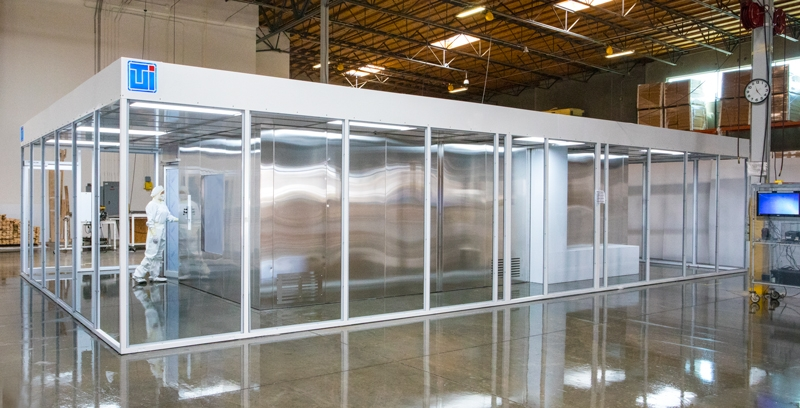 USP 800 BioSafe Cleanroom, Custom Floor Plan