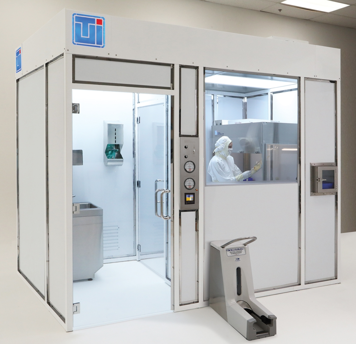 USP 800 Hardwall Clean Room For Hazardous Drug Compounding