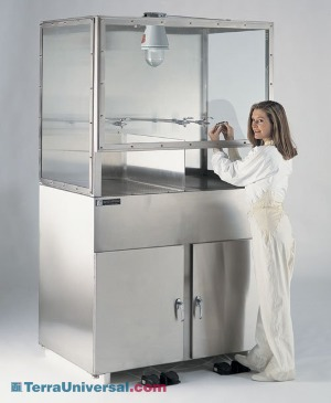 Wet Processing Stations and Cleaning Benches