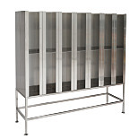 BioSafe® Garment Dispenser Stations, Stainless Steel