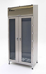 Garment Cabinets; Hanger Rod/Shelves with Divider