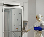 Automatic Swing Doors for Terra Cleanrooms, Aluminum