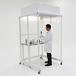 Portable CleanBooth™; Vertical Airflow