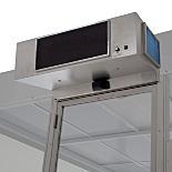 High-Velocity Cleanroom Air Curtains