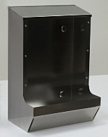 BioSafe® Safety Glass Dispensers, Stainless Steel