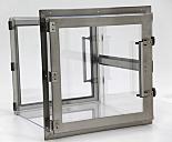 Pass-Through Chamber; Acrylic, for Modular Cleanroom, 12