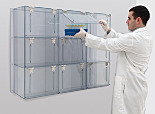 Wall-Mount Cleanroom Storage Cabinets