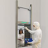 Slide-Up Door Smart® Pass-Through Chambers