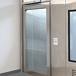 Automatic Swing Doors for Terra Cleanrooms, Stainless Steel