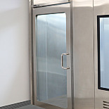 Manual Swing Doors for Terra Cleanrooms, Stainless Steel
