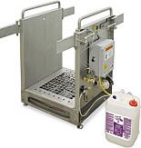 Shoe Cleaner; HACCP Defender, Liquid Sanitizer, 36