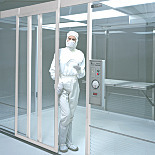 Manual Slide Doors for Terra Cleanrooms, Aluminum