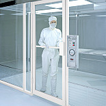 Manual Swing Doors for Terra Cleanrooms, Aluminum