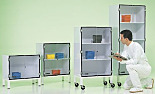 Plastic Cleanroom Storage Cabinets