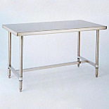 Cleanroom Tables with H-Frame, from InterMetro